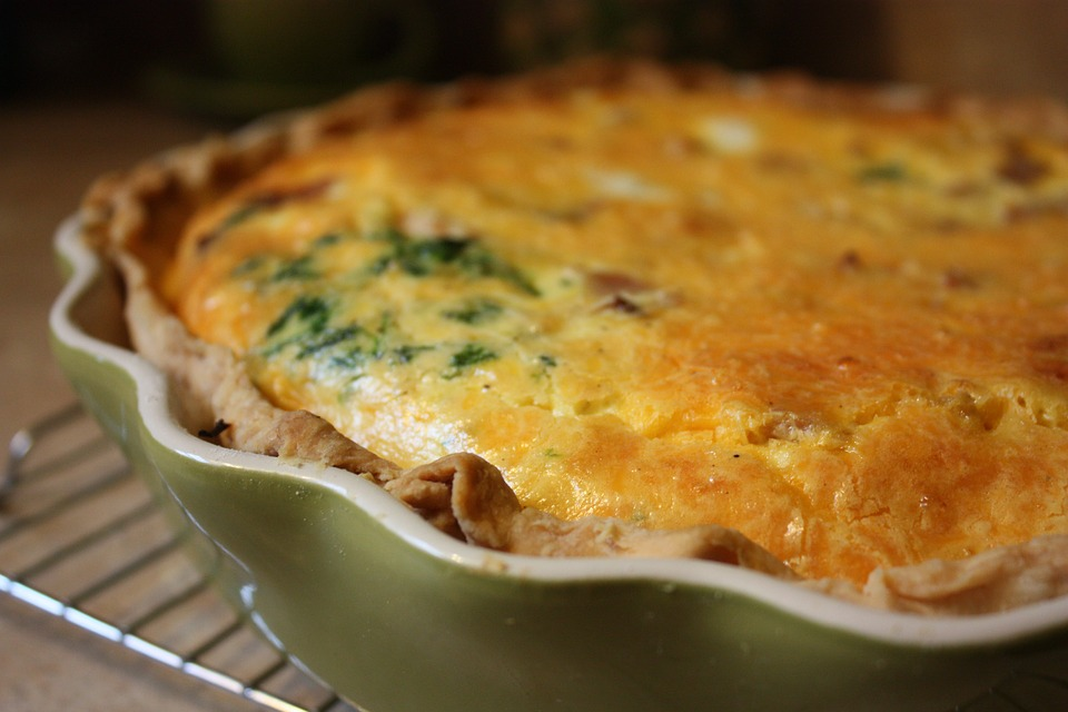 Torta salata con cicoria e ricotta