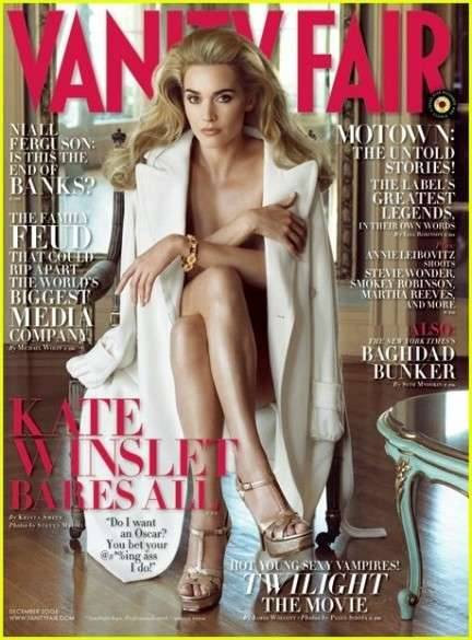 Kate Winslet per Vanity Fair