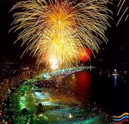 Capodanno 2009 in Brasile