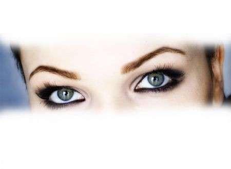 Il trucco degli occhi piccoli