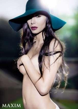 Calendari 2009: Linda Santaguida per Maxim