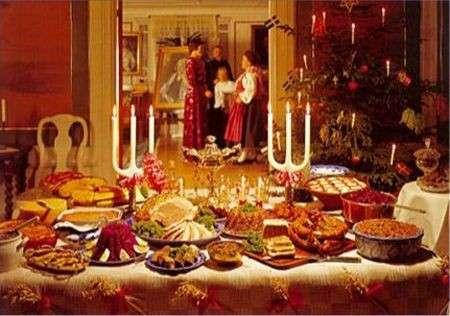 Natale 2008: a tavola con il pancione