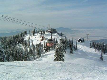 Inverno: sciare in Romania