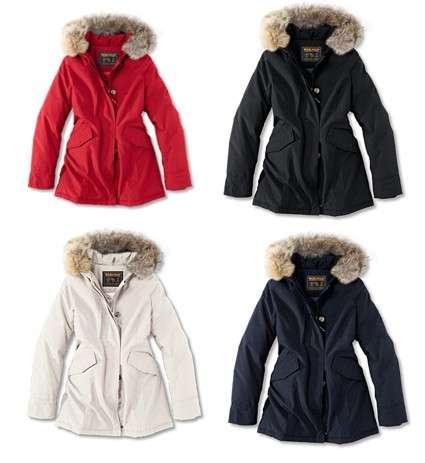Woolrich: collezione cappotti donna 2008 2009
