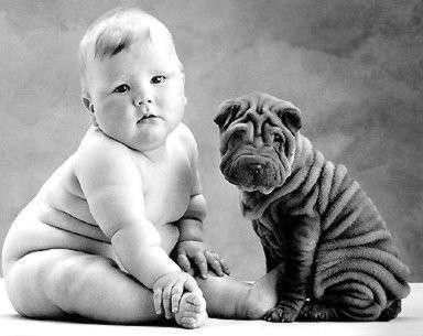 bambino grasso