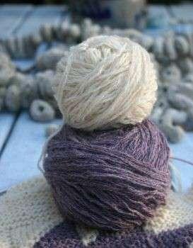 Lavori a maglia: maglia legaccio