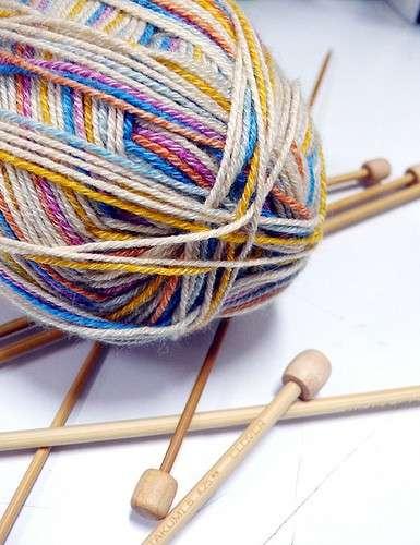 Lavori a maglia: chiudere il lavoro