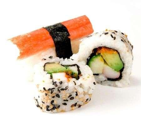 Cucina giapponese sushi