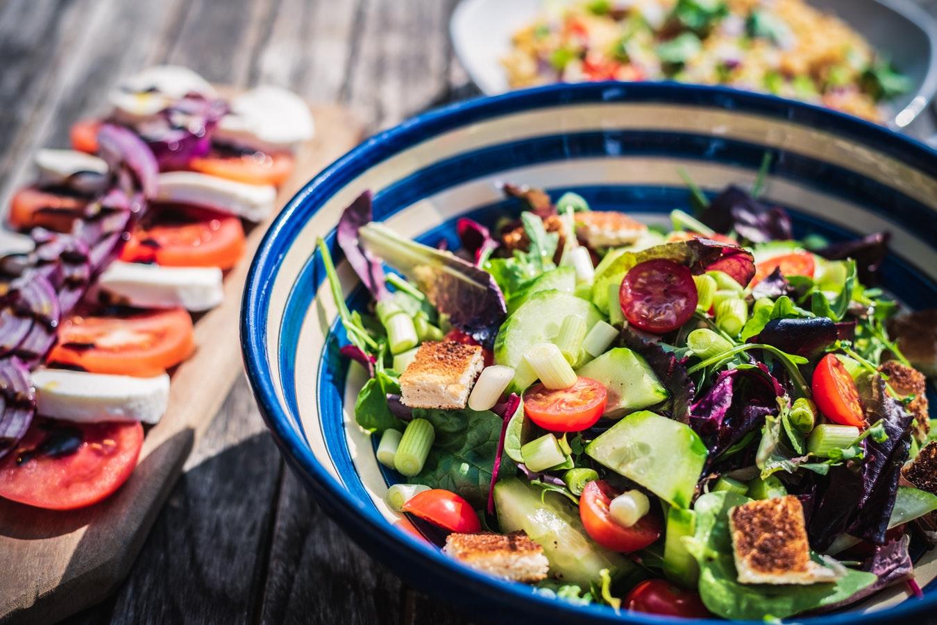 La dieta dell'insalata per prepararsi all'estate
