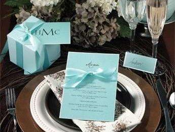 Menu matrimonio, i cartoncini da mettere in tavola [FOTO]