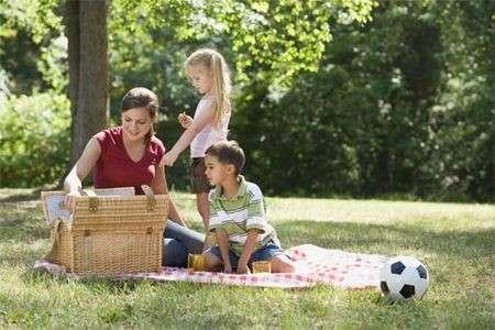 picnic in famiglia
