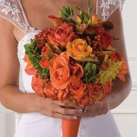 Bouquet per la sposa d'estate