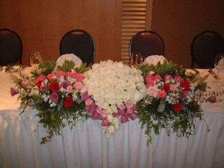 Gli addobbi floreali per il matrimonio