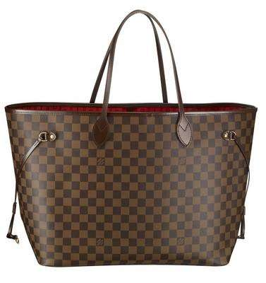 Louis Vuitton borse: Neverfull Bag Damier