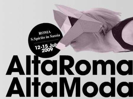 Alta Roma Alta Moda 2009: il calendario