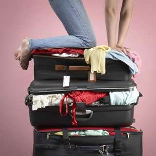 fare la valigia
