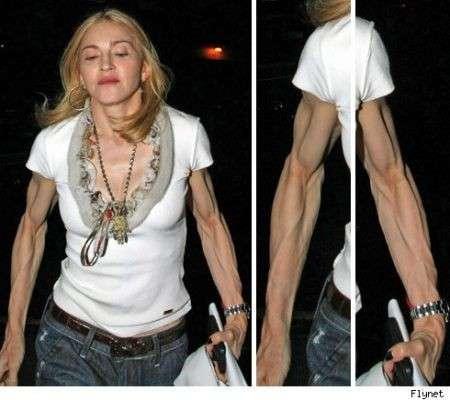 madonna braccia