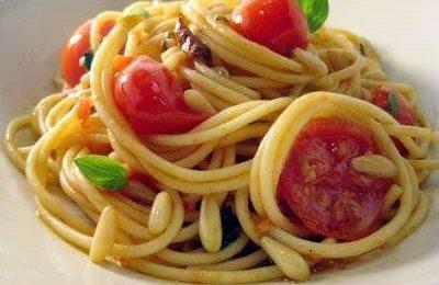 Ricette light: pasta al pomodoro e limone