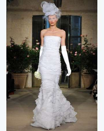 Abiti da sposa 2010: collezione primavera-estate Oscar de la Renta