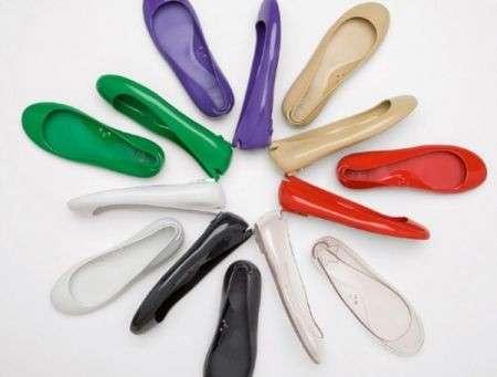 Distributori di ballerine contro il mal di piedi