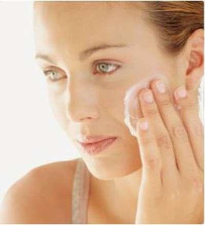 detergere viso