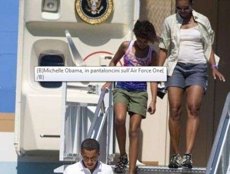 Michelle Obama, la prima first lady in shorts