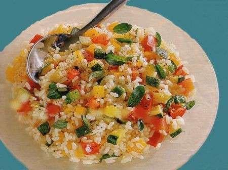 Ricette estive, insalata di riso