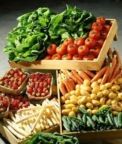 Le verdure nella dieta