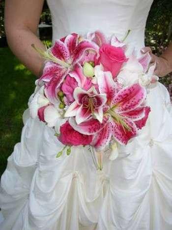 Bouquet per la sposa d'autunno