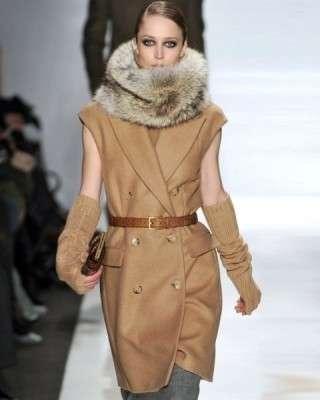 Moda inverno 2010: il cappotto cammello