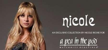 Nicole Richie moda pre maman