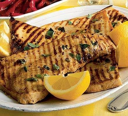 Ricette light, pesce spada alla griglia