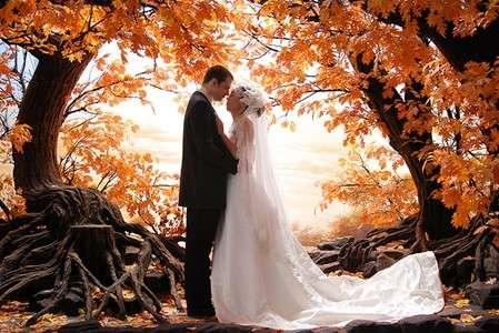 sposi autunno
