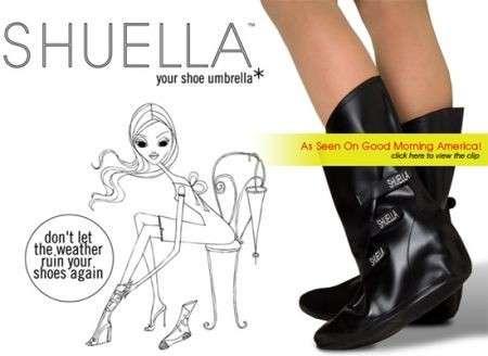 Stivali antipioggia per proteggere le scarpe