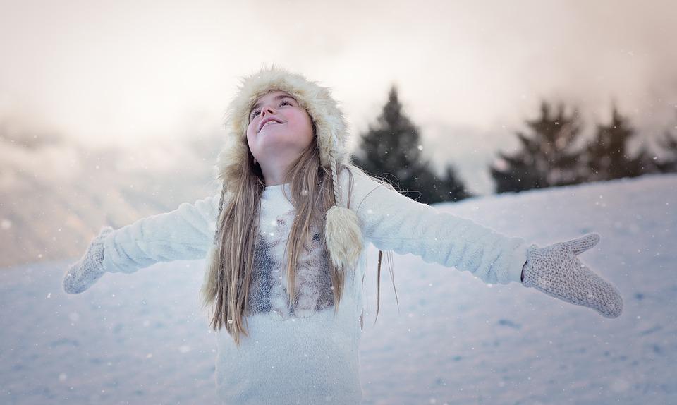 Neve bambina