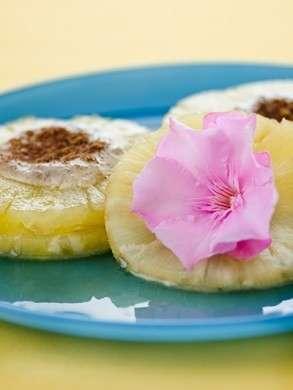 Ricette light: crema di ricotta con ananas