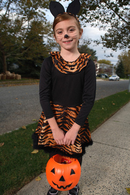Halloween 2009: costumi fai da te per bambine