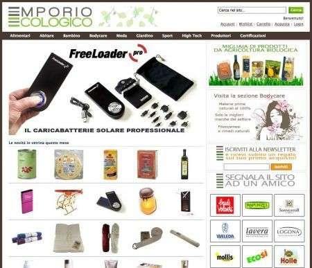 Internet: lo shopping si fa ecologico