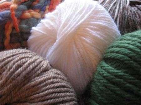 Lavori a maglia: il punto dritto