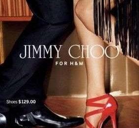Jimmy Choo per H & M: collezione completa