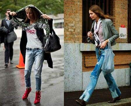Tendenze autunno inverno 2009/10: i jeans patchwork