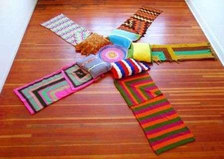 Lavori a maglia: il punto rovescio