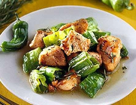 Ricette light: tacchino con peperoni