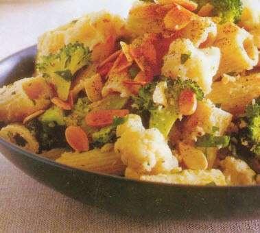 taglioni con cavolfiori e broccoli