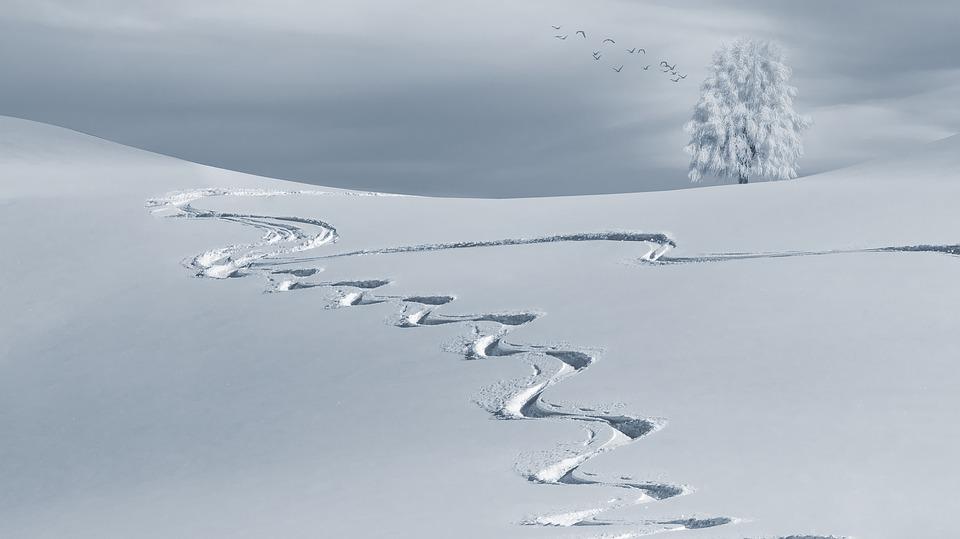 Montagna: le sculture di ghiaccio