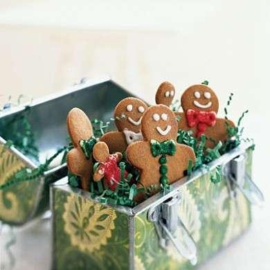 biscotti gingerbread natale