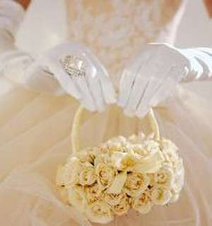 borsetta bouquet roselline
