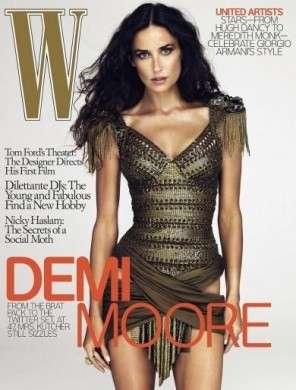 Demi Moore photoshop fianco