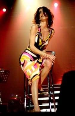 Giorgia sul palco