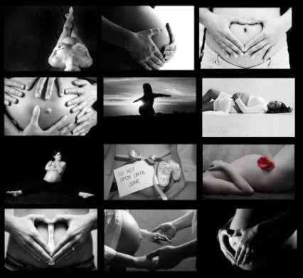 gravidanza collage